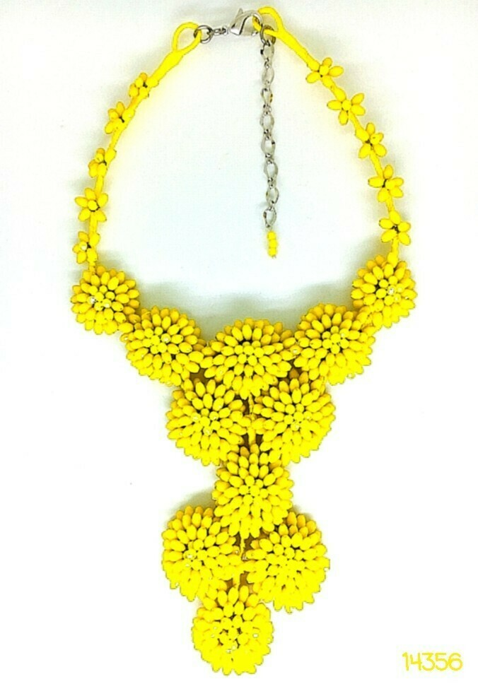 Sunny Days Statement Necklace