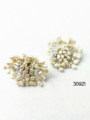 Wondrous Wedding Pearl Earrings