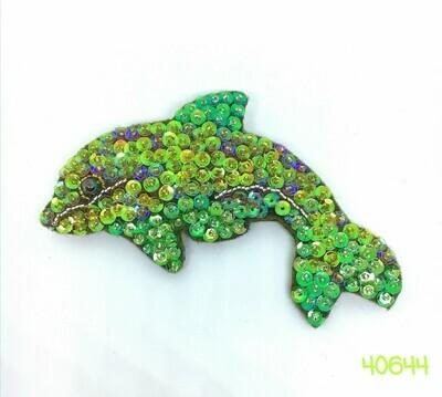 Darling Dolphin Brooch