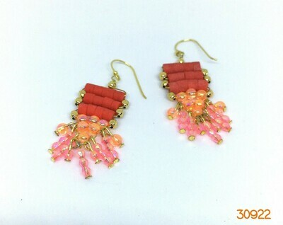 Pretty Pink Drop Earrings