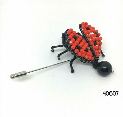 Fanciful Ladybug Brooch