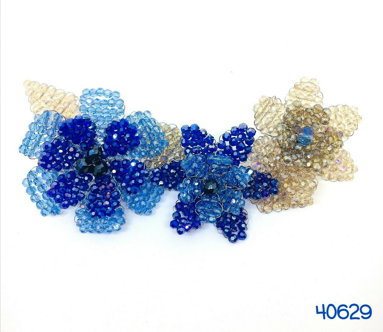 Jazzy Blue Brooch