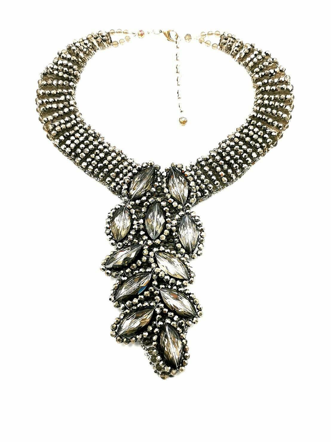 Cascading Crystals Necklace
