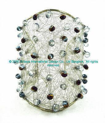Purple Persuasion Cuff Bracelet