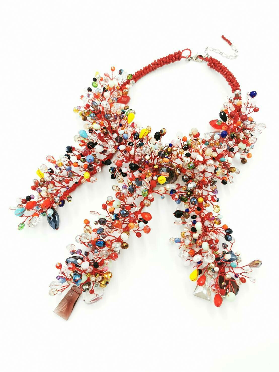 Strands of Summer Statement Necklace