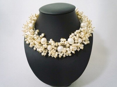 Precious Pearls Statement Necklace