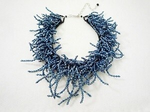 Blue For You Statement Necklace