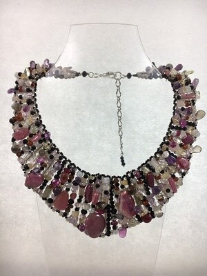 Marvelously Mauve-elicous Necklace
