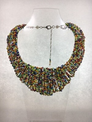 Boho Bib Statement Necklace