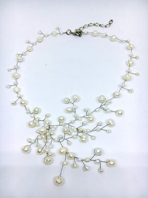 Graceful Freshwater Pearl  Necklace