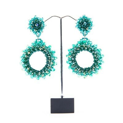 Turquoise Meets Teal Earrings
