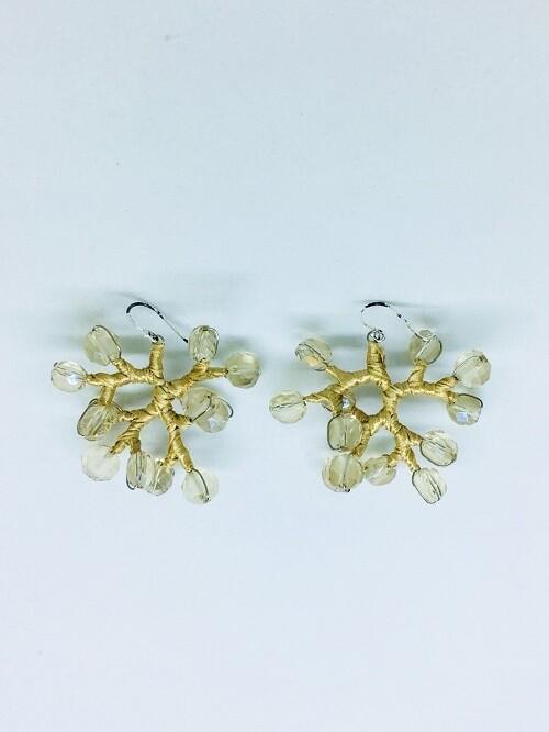 Golden Branches Earrings
