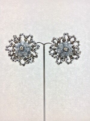 Lacy Crystal Earrings