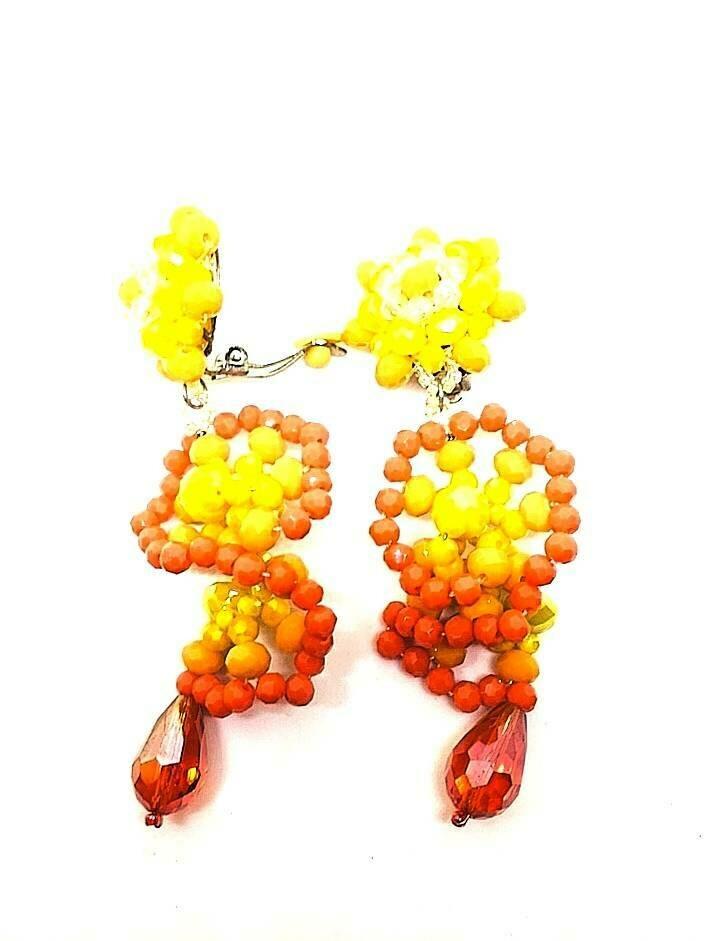 Summer Festival Crystal Earrings