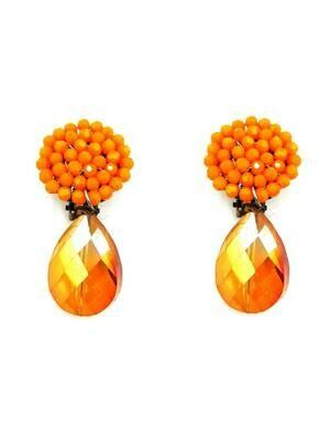 Florida Orange Earrings