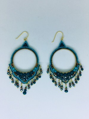 Bohemian Goddess Earrings