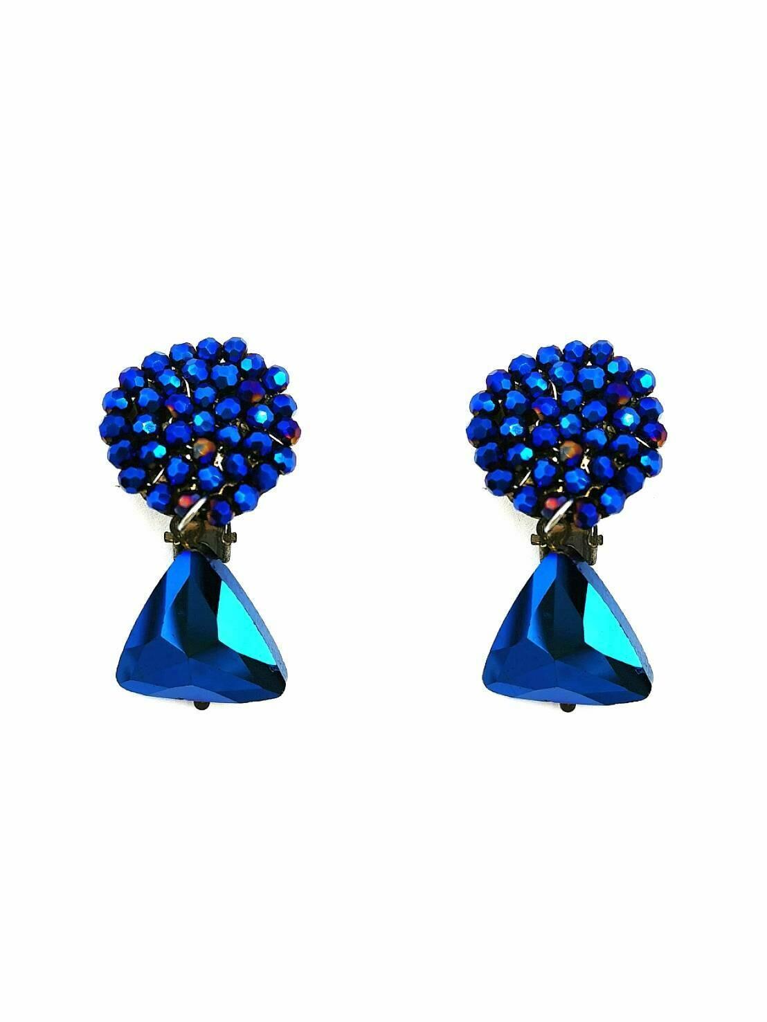 Peacocks On Parade Earrings