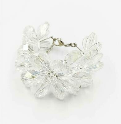 Must Have Clear White Crystal Bracelet