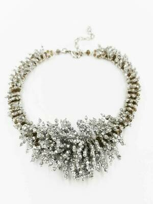Really Silvery Racy Necklace