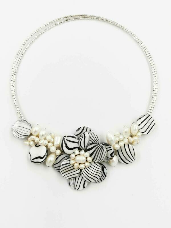 Fantastically Floral Statement Necklace