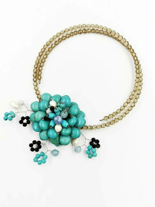 Springtime Robins Statement Necklace