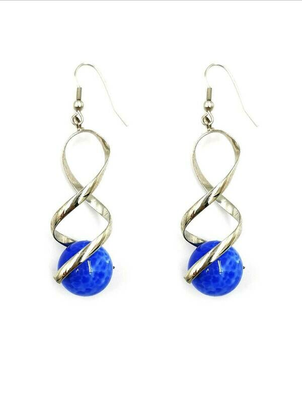 Beautifully Blue Dangle Earrings