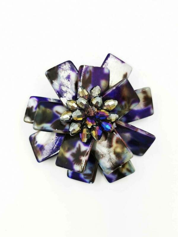 Purple Haze Brooch
