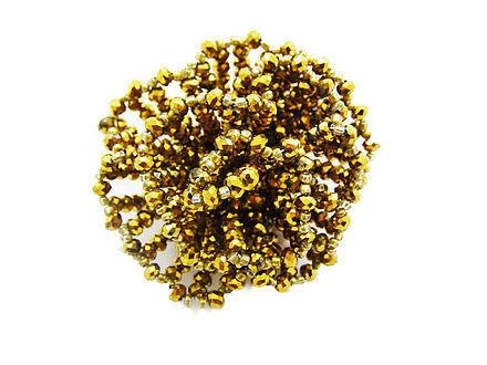 Golden Glam Brooch