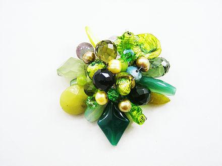 Green Gleam Brooch