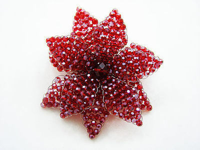 Ravishing Ruby Brooch