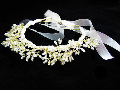 Golden Gleam Bridal Tiara