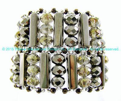 Hot in Hematite Bracelet