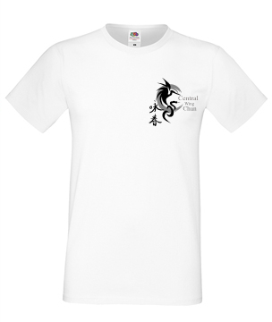 CWC round neck t-shirt (white)