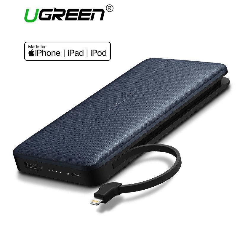 Ugreen Power Bank 20000mah Portable Fast Charging Powerbank for iPhone X Huawei
