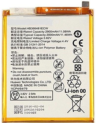 LONGLIFE Battery Compatible for P10 lite HB366481ECW 3000mAh + Free Tools, P10 lite batería de repuesto