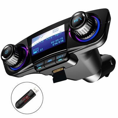 Bluetooth FM Transmitter Car MP3 Player Hands-Free