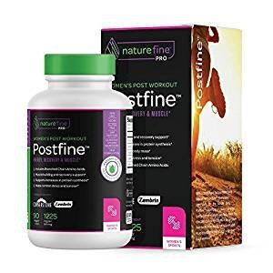 Powerful Post Workout Supplement for Women  Supports Recovery, Muscle, Diet   Reduce Stress and Fatigue, Can Help with Adrenal Fatigue, Chronic Fatigue etc   PostFine   90 Veggie Capsules