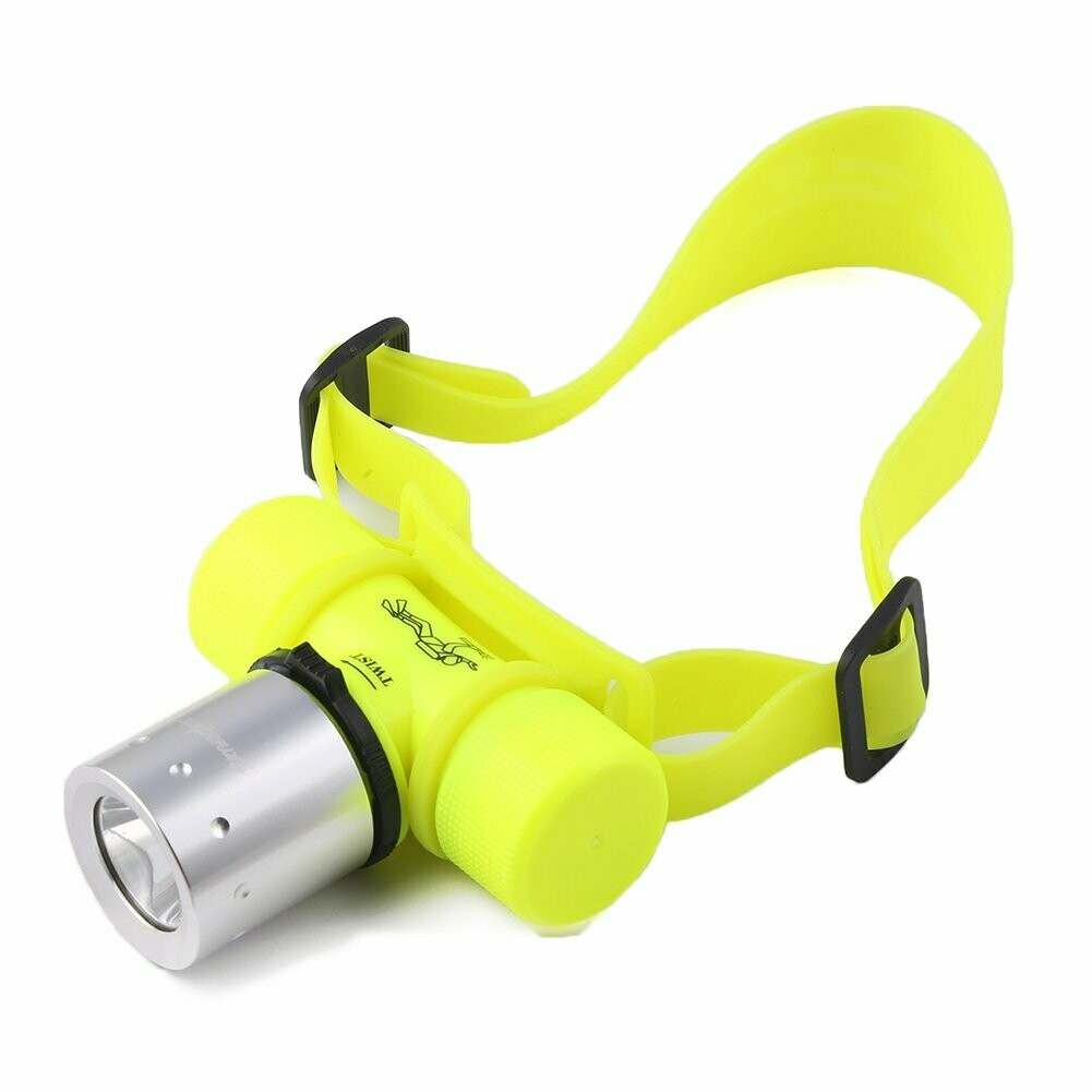 Kangnice 3500Lm T6 LED Waterproof Underwater Diving Head light Lamp Flashlight Torch