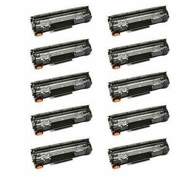 Tonerprice 9435B001AA CRG 137 Compatible Toner Cartridge 10 Pack, 2400 Page-Yield Per Ctg, Black