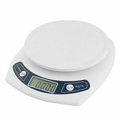 eDealMax Cuisine 7000g 7 kg / 1G Mini électronique numérique Balance blanc