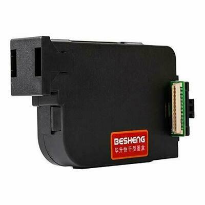 Besheng Original Handheld Ink Cartridge Replacement for Handheld Inkjet Printer (Black,Red,Yellow,Blue,Green,White) (Black)