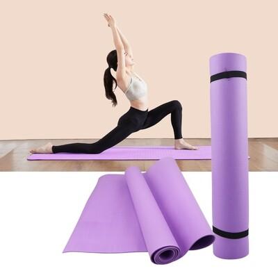 4MM PVC tapis de Yoga anti-dérapant couverture PVC gymnastique Sport santé perdre du poids Fitness tapis d'exercice femmes Sport Yoga tapis