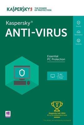 Kaspersky Anti-Virus 2016 | 1 PC | 1 Year |