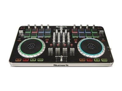 Numark Mixtrack Quad Four Deck USB DJ Controller