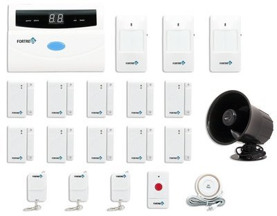 Alarm System Kit with Auto Dial
