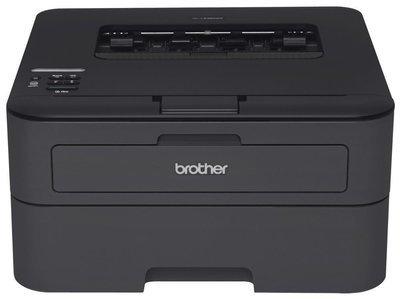 Brother HL-L2340DW Compact Laser Printer, Monochrome, Wireless, Duplex Printing