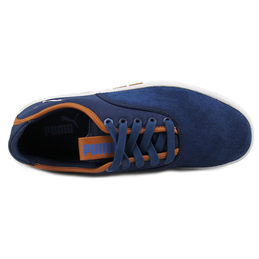 Puma Funist Lo MU Round Toe Canvas Sneakers