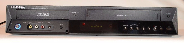 Samsung DVD-VR357 VHS/DVD Recorder Combo