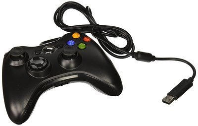 FiveStar USB Wired Game Pad Controller for Xbox 360, Windows 7 (X86), Windows 8 (X86) - White