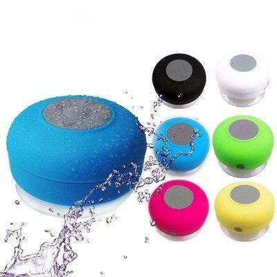 Waterproof Wireless Bluetooth Handsfree Mic Shower Mini Suction Speaker